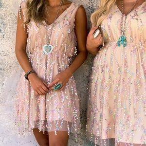 Southern Fried Chics sequin dress